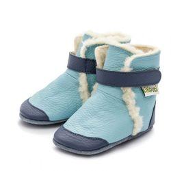 Čižmičky Liliputi - Eskimo blue
