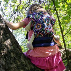 Nosič Liliputi MINI - Mandala bloom