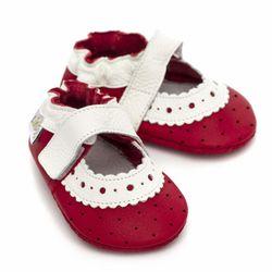 Sandále Liliputi - Red Rose