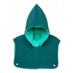 Detská kapucňa so šálom - Azure Turquoise