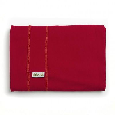 Elastická šatka červená