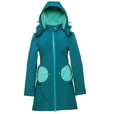 Mama kabát - Azure Turquoise