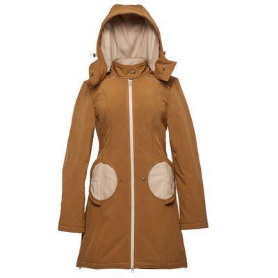 Mama kabát - Saffron-beige