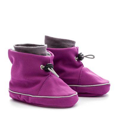 Softshellové čižmičky - violet-grey