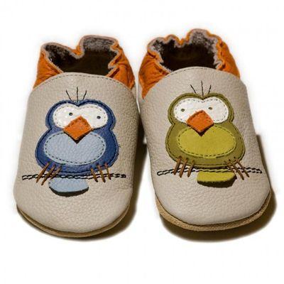Topánky Liliputi - vtáčiky